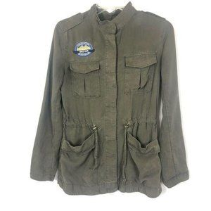 H&M Divided Montana Military Utility Style Jacket